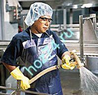 Уборка на пищевом производстве