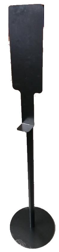 металлическая стойка для диспенсера
